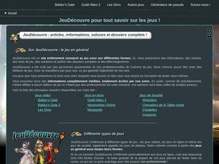 screenshot http://jeudecouvre.fr/