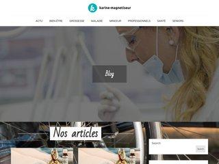 screenshot http://karine-magnetiseur.fr Magnétiseur guérisseur à lille nord pas-de-calais