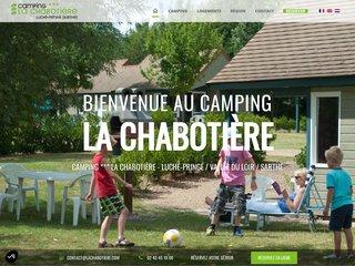 Camping La Chabotière 3 étoiles à Luché-Pringé