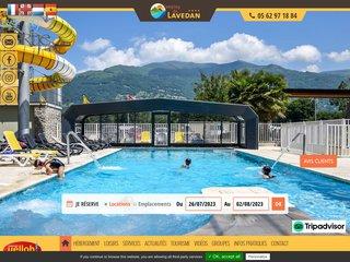 Camping Du Lavedan 4 étoiles à Lau Balagnas