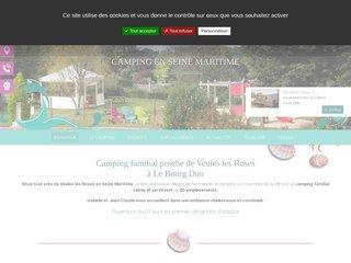 Camping Les Garennes De La Mer 2 étoiles à Le Bourg Dun