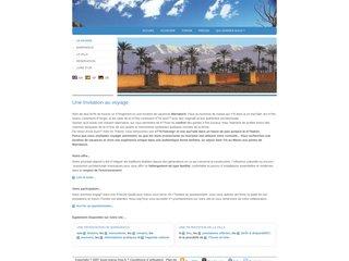 screenshot http://louer.maroc.free.fr écotourisme à marrakech