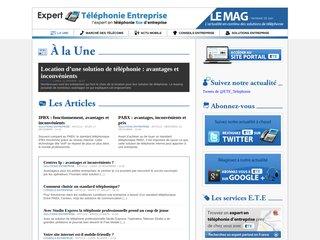 Magazine d'actualité Téléphonie