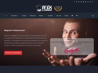 screenshot http://magicalex91.fr