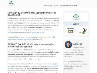 Plateforme sur le BTS Management des Unités Commerciales