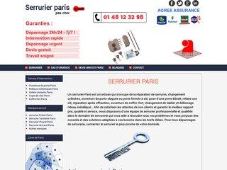 screenshot http://serruriersparispascher.com/ <title>ANNUAIRE NOOGLE.  webmaster connect</title>