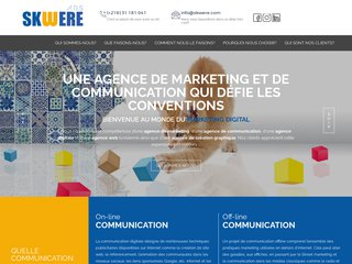 création site internet tunisie
