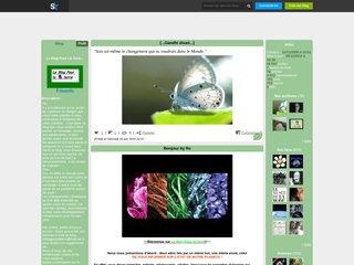 screenshot http://tiboandflo.skyblog.com/ Le blog pour la terre