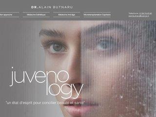 screenshot http://www.alainbutnaru.com Tout savoir sur la medecine esthetique