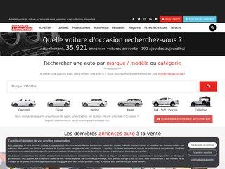 screenshot http://www.annonces-automobile.com Annonces automobile