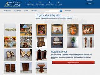 screenshot http://www.antiquites-en-france.com