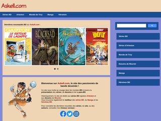 screenshot http://www.askell.com Askell.com -le site officiel-