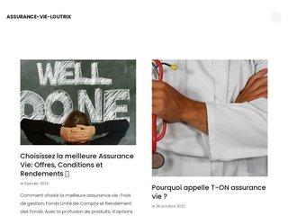 Assurance vie zéro frais d'entrée Loutrix