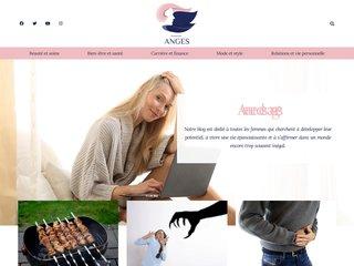 screenshot http://www.avenuedesanges.com Avenue des anges