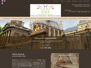 Détails : Avocat en droit public à Paris
