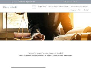 Maître Malardé : Avocat en droit du travail à Paris 8