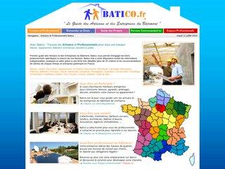 Batico: Service de demande de devis travaux sur internet