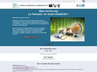 screenshot http://www.bienecrire.org <title>ANNUAIRE NOOGLE.  webmaster connect</title>