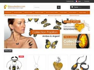 screenshot http://www.bijouxdambre.com Bijoux en ambre