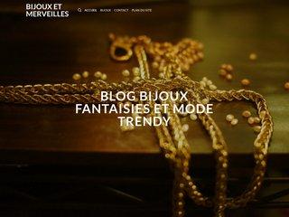 screenshot http://www.bijouxetmerveilles.com/ Bijoux et merveilles