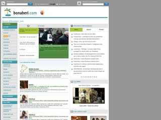 screenshot http://www.bonaberi.com Bonaberi.com