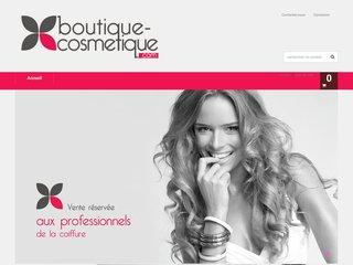 screenshot http://www.boutique-cosmetique.com Boutique cosmetique discount
