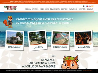Camping Alegera 3 étoiles à Souraïde