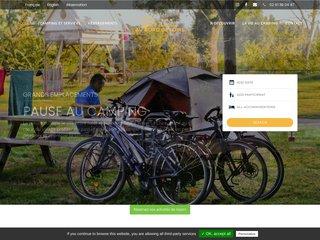 Camping Eurl Au Bord De L'Eau 2 étoiles à Gennes