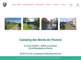 Camping Des Bords De L'Huisne 2 étoiles à Bellou-Sur-Huisne