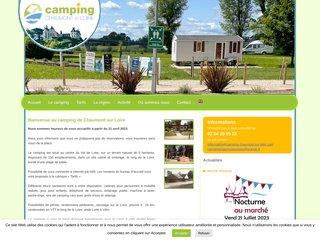 Camping De Chaumont-Sur-Loire 2 étoiles à Chaumont-Sur-Loire