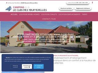 Camping Le Clos Des Tourterelles 2 étoiles à Bouzonville-Aux-Bois