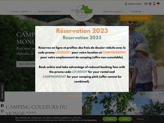Camping Couleurs Du Monde 4 étoiles à Faverolles Sur Cher