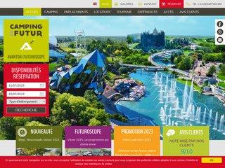 Camping Du Futur 3 étoiles à Avanton
