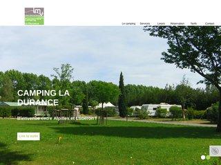Camping Intercommunal De La Durance 3 étoiles à Cavaillon