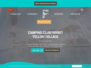 Camping La Plage 5 étoiles à Vias Plage