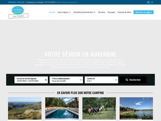 Camping Et Chalets Du Lac D'Aydat 3 étoiles à Aydat