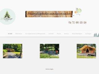 Camping Municipal La Fressange 3 étoiles à Saint-Didier-En-Velay