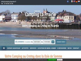 Camping Sas La Prairie 2 étoiles à Le Crotoy