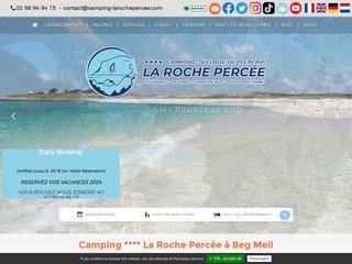 Camping De La Roche Percée 4 étoiles à Fouesnant