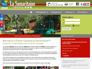 Camping La Samaritaine 3 étoiles à Buzancy