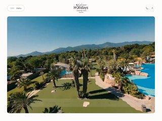 Camping Bois De Valmarie 5 étoiles à Argelés-Sur-Mer