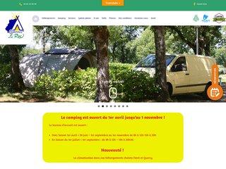 Camping Caravaning Le Roc 3 étoiles à Rocamadour