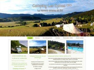 Camping Les Eymes 3 étoiles à Méaudre