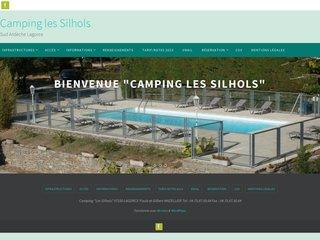 Camping Les Silhols 2 étoiles à Lagorce
