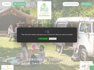 Camping Le Ventoulou 4 étoiles à Thegra