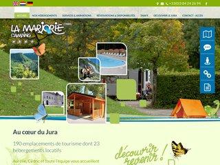 Camping De La Marjorie 4 étoiles à Lons Le Saunier
