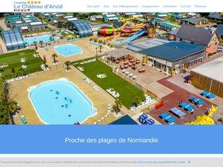 Camping S.A.R.L Des Bruyeres 4 étoiles à Villerville