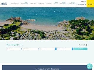 Camping Du Port Blanc 3 étoiles à Dinard