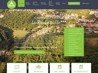 Camping La Roucateille 3 étoiles à Montgailhard
