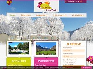 Camping Sarl D'Autun 3 étoiles à Saint Lary Soulan